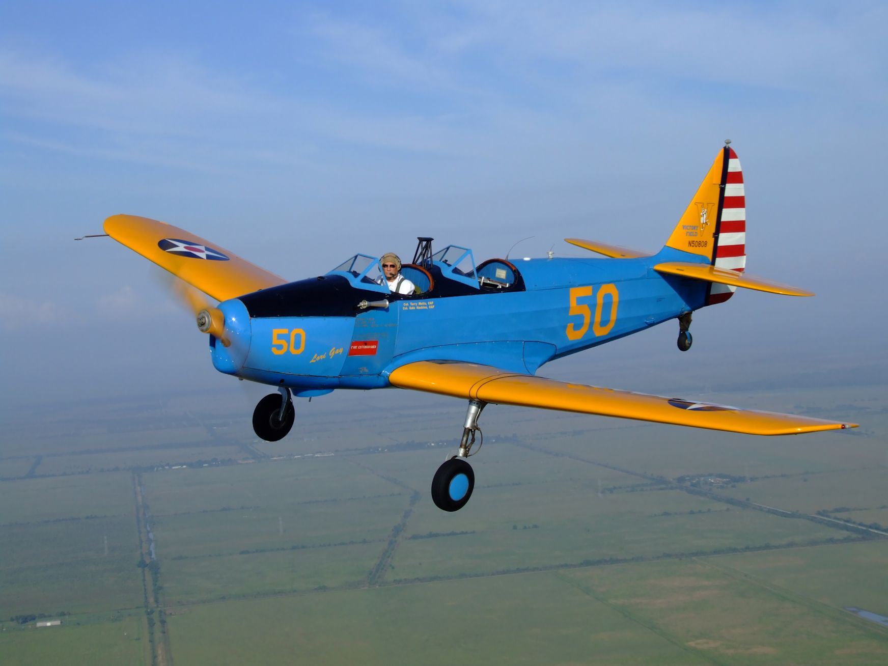 Fairchild PT-19 Cornell - Primary Trainer, CAF Aircraft