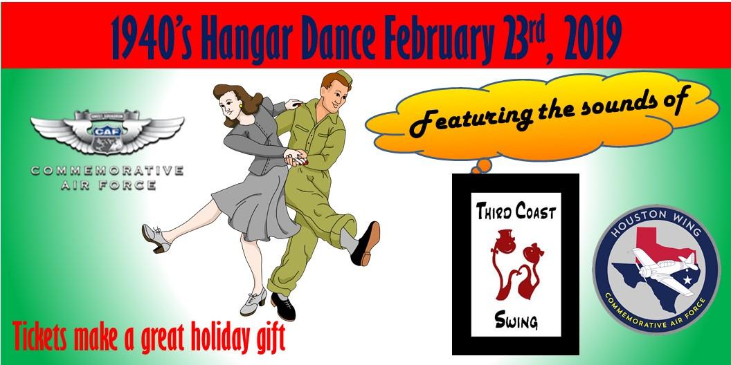 Hangar Dance - Third Coast Swing Playing, Houston Wing