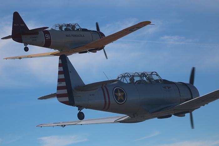 Houston Wing - Commemorative Air Force, Historical Aircraft